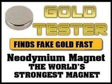 Le più forti CALAMITA testing 9 Carati 24ct 18ct rottami monete d'oro