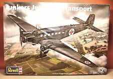 1/48 REVELL JUNKERS Ju52/3M TRANSPORT MODEL KIT # 85-5624