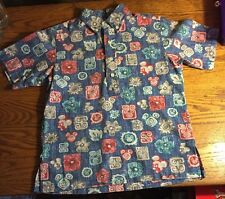 Disney Reyn Spooner Kids Boys M hawaiian SHIRT  Mickey Mouse