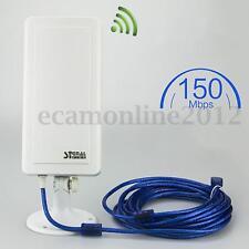 150Mbps WiFi Antena Inalámbrico Extender Booster Router Repetidor USB Adaptador
