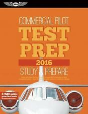 Commercial Pilot Test Prep 2016: Study & Prepare: Pass your test and know what