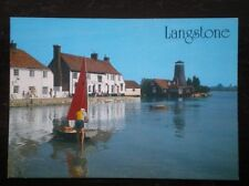 POSTCARD HAMPSHIRE LANGSTONE - THE ROYAL OAK & MILL