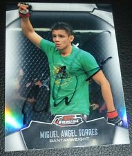 Miguel Angel Torres Signed 2012 Topps Finest Refractor UFC Card 21 Autograph WEC