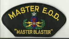 Master E.O.D. Explosive Ordnance Disposal    PATCH