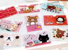Kawaii Sentimental Circus Rilakkuma Bear Cat Chou-Fleur Gift Credit Card Holder
