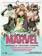 Woman of Marvel series 2  90 card Base Set and  Wraper