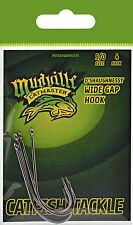 Mudville Catmaster MDOSHWGHK5/0 Catfish Tackle Oshaugnessy Wide Gap Hk Sz5/0 Pk4
