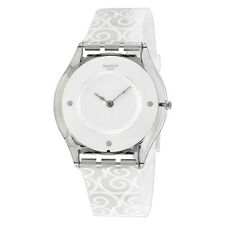 Swatch Schneehasi White Dial Ladies Casual Watch SFE101