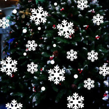 New Merry Christmas Wall Sticker Snowflake Decal Vinyl Home Window Art Decor