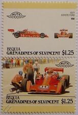 1977 COYOTE FORD Car Stamps (Leaders of the World / Auto 100)