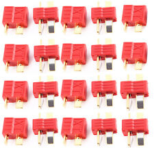 10 Pairs Deans T-Style Connector Plug Female & Male Fr RC LiPo Battery ESC Motor
