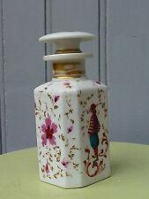 Epoque romantique XIXe - Flacon au troubadour porcelaine VIEUX PARIS - signé