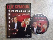 dvd du spectacle elie semoun se prend pour qui