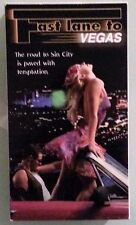 renee rea FAST LANE TO VEGAS  tracy angeles  VHS VIDEOTAPE rated r
