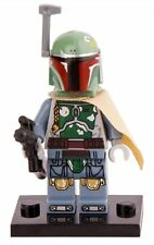 Boba Fett Minifigure Star Wars Fits Lego
