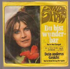 """7"""" Sandie Shaw Du bist wunderbar / Dein anderes Gesicht 60`s RCA"""