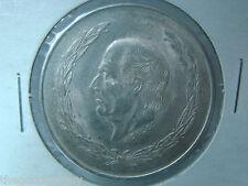 1953 Mexico 5 PESOS HIDALGO Silver MEXICAN COIN LEY 720 ESTADOS UNIDOS MEXICANOS