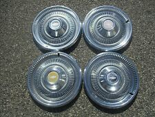 genuine 1970 to 1974 Chevy Impala hubcaps wheel covers set