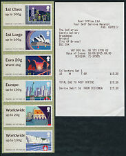NCR TYPE IIA SEA TRAVEL COLLECTOR SET/6 1st DAY FROM POST OFFICE POST & GO