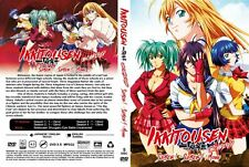 *Uncensored + English Version* ~ Ikki Tousen (Season 1 2 3 4 + Movie) ~ 5-DVD ~