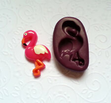 Silicone Mold Flamingo Bird Mould (35mm) Cake Decoration Chocolate Resin Clay
