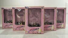 SAILOR MOON STARS Sailor Star Light-Up 5 Figures Set, Banpresto 1996, Japan, MIB