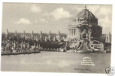 Postcard 1904 St.Louis World's Fair Festival Hall- Mogul Egyptian Cigarettes