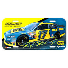 RICKEY STENHOUSE JR. #17 BEST BUY RACING NASCAR LICENSE PLATE 2013