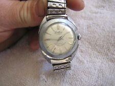 Vintage Lathin Watch 17 Jewels Incabloc Kingston Watch Co.