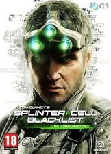 Tom Clancy's Splinter Cell Blacklist Ultimatum Edition PS3 * NEW SEALED PAL *