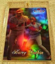 BARRY LARKIN 1998 TOPPS GOLD LABEL #74 CLASS 2 RED REFRACTOR SERIAL #37/50 RARE