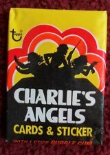 Unopened Pack 1977 Topps Charlie's Angels Series #1 TV Cards ~ Farrah Fawcett