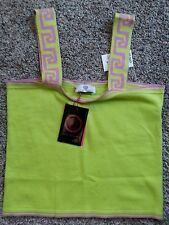 NWT GIRLS YOUNG VERSACE TANK MADE IN ITALY SIZE MEDIUM 10/12/14 $250