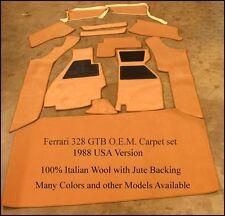 Ferrari 328 GTB US Version OEM Carpet Set