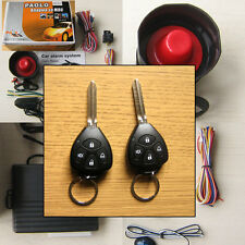 Car Alarm Security System + Remote Central Locking Kit with TOYOTA Key Fob Fobs