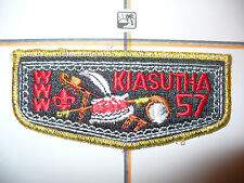 OA Kiasutha Lodge 57,S-5a, 1970s 50 x 116,Flap,67,130,242,275,540, Pittsburgh,PA
