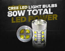 GENSSI™ CREE 80W Max Ultra Bright White LED Light Bulbs 3157 3057 (Pack of 2)