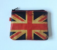Change Purse British flag wallet Union Jack zipper wallet UK flag coin purse