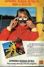 Publicité advertising 1979 Appareil Photo Kodak Ektra