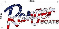Ranger Boats USA Logo Decal vinyl sticker graphic, decal
