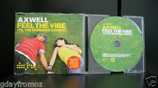 Axwell - Feel The Vibe 7 Track CD Single Incl Video