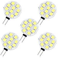 5 G4 10 5050 SMD LED Lampe Licht Birne Strahler Weiss DC12V DE