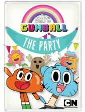Amazing World of Gumball: The Party (2013, REGION 1 DVD New)
