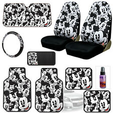 NEW MICKEY MOUSE 10PC CAR SEAT COVERS FLOOR MATS AND ACCESORIES SET FOR CHEVY