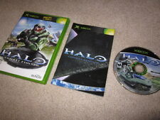 Halo Combat Evolved original first print/black label (Xbox &360) no sticker RARE