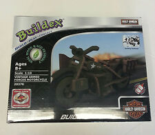 Harley-Davidson Kids / Wooden Buildex Motorcycle Puzzle - Armed Forces - Gift