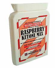 RASPBERRY KETONE MAX - WEIGHT LOSS FAT BURNER DIET PILLS EXTREME SLIMMING 1000mg