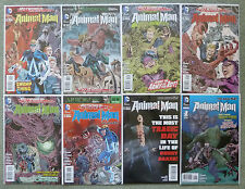 "SWAMP THING/ANIMAL MAN #12-18 + ANNUAL #1 ""ROTWORLD""..DC NEW 52 1ST PRINT..VFN+"
