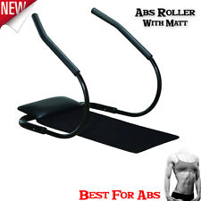 Abdominal Abs Roller Machin With Mat Toning Crunch Ab Exercise Integrated Weider