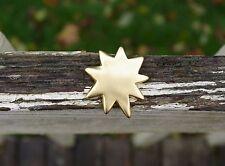 Victoria's Secret Gold Tone Metal Brooch Pin Pinback Star Starburst